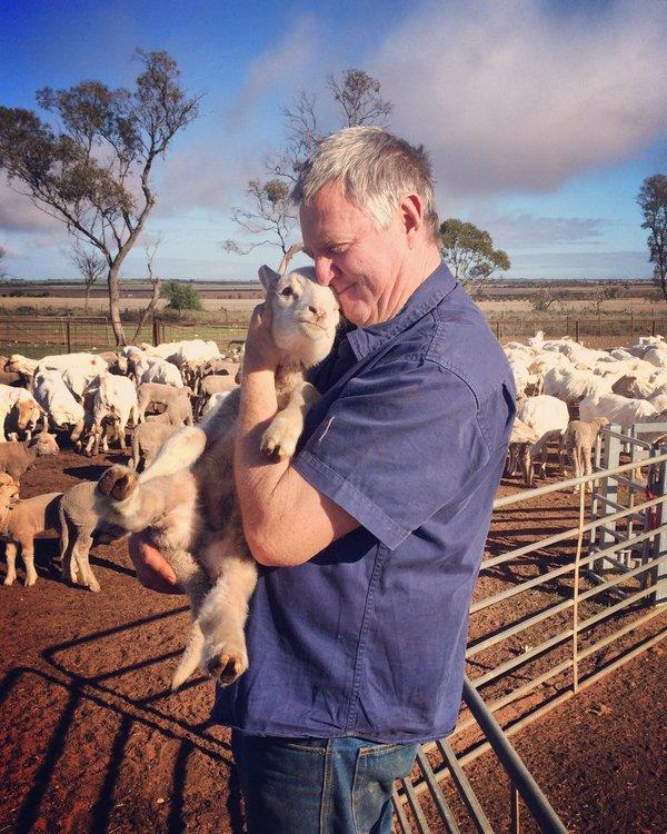 Carris Waite, exploitant agricole australien
